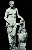 Vatican Museums - Greek Cross Room - Statue - Venus of Gnidia - Greek and Roman Mythology