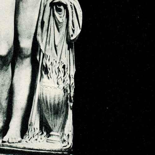 Antique Prints Vatican Museums Statue By Praxiteles