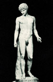 Vatican Museums - Statue of Mercury Hermes Antinous - Greek and Roman Mythology