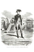 History of Napoleon Bonaparte - Bonaparte Lieutenant in La F�re Artillery Regiment -  French Artillery General du Teil