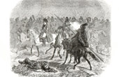 History of Napoleon Bonaparte - Napoleonic Wars - Battle of Brienne (1814) - Six Days Campaign - Cossacks - Prussia - Blücher
