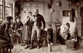 Genre Scene by Benjamin Vautier the Elder - Verlassen