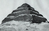 Ancient Egypt - Egyptology - Necropolis - The Pyramid of Djoser or Step Pyramid in Saqqara - Sakkara