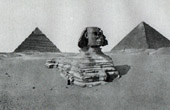 Ancient Egypt - Egyptology - Necropolis - The Great Sphinx of Giza - Pyramid of Cheops - Khafre's Pyramid
