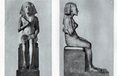Ancient Egypt - Egyptology - The Egyptian Art - Sculpture - Statue of Akhnaton - Amenophis IV - Amenhotep IV