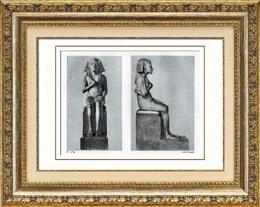 Antiguo Egipto - Egiptolog�a - El Arte Egipcio - Escultura - Estatua de Akenat�n - Amenofis IV - Amenhotep IV