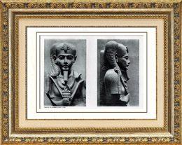 Ancient Egypt - Egyptology - The Egyptian Art - Mythology - Statue of Khonsu