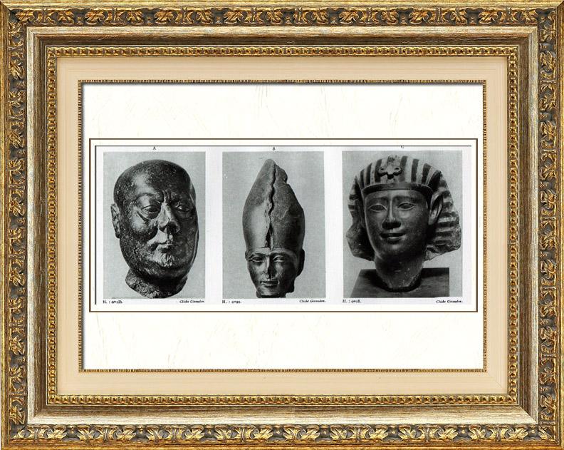 Alte Stiche | Altes Ägypten - Ägyptologie - Altägyptische Kunst ...