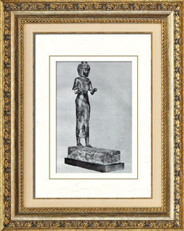Ancient Egypt - Egyptology - The Egyptian Art - Pharaoh - Statue of Karomama