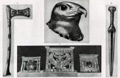 Ancient Egypt - Egyptology - The Egyptian Art - Ancient Jewels - Ahmose's Axe - Falcon's Head in Nekhen - Hierakonpolis