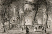 View of London - England - Vauxhall Gardens - New Spring Gardens (United Kingdom )
