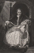 Portrait of the Pope Pius VII - Barnaba Niccolò Maria Luigi Chiaramonti (1740-1823)