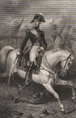 Portrait of Macdonald - Marshal of the Empire on Horseback (1765-1840)