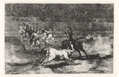 Bullfighting - Tauromachy - Corrida in Spain - Madrid - Torero - Bullfighter - Mariano Ceballos (Francisco de Goya y Lucientes)