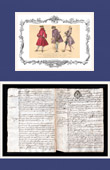 Historical Document - Reign of Louis XV of France - 1764 - Louis XV King of France and of Navarre