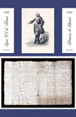 Historical Document - Reign of Louis XV of France - 1747 - François de Chevert : General of Louis XV