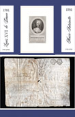 Historical Document on Parchment - Reign of Louis XVI of France - 1781 - Marie Antoinette