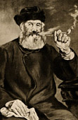 Rökaren - The Smoker -  Le Fumeur - La Bonne Pipe (Edouard Manet)