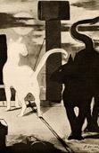 The Cat Rendezvous - Le Rendez Vous des Chats (Edouard Manet)