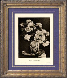 Peonies - Still life - Pivoines - Nature morte (Edouard Manet)
