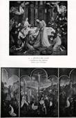 Communion of the Apostles - The Institution of the Eucharist - Crucifixion (Joos van Wassenhove - Justus van Gent)