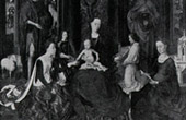 Exterior shutters of Triptych - The Mystical Wedding (Hans Memling or Memlinc)