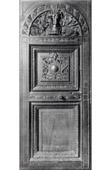 Carved Wood Door - Sacristy - Palais de Dijon - Scrin - XVI�me Si�cle - Mus�e de Dijon (Hugues Sambin Sculpteur)