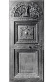 Carved Wood Door - Sacristy - Palais de Dijon - Scrin - XVIème Siècle - Musée de Dijon (Hugues Sambin Sculpteur)