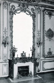 Decoration -  Mirror - Carved and Golden Wood - Hearth - Règne de Louis XV - Salon des Pendules - Château de Versailles