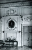 Decoration - Cornice - Carved Wood - Portrait de la Reine Marie Leczinska - Louis XIV - Grand Trianon Versailles