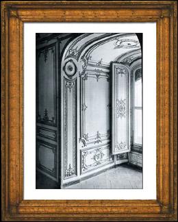 Stampe antiche stampa di decorazione embrasure de for Embrasure de fenetre