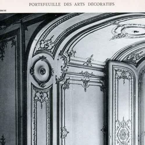 Gravures anciennes gravure de d coration embrasure de for Decoration fenetre ancienne