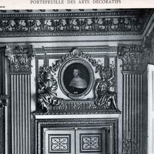 Stampe antiche porta camera da letto luigi xiv di - Letto versailles ...