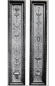 Stich von Dekoration - Arabeske - Cartouche - Corbeilles de Fleurs - Enfants - XVIIIème Siècle (Musée des Arts Décoratifs)