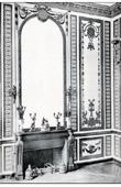 Decoration - Salon - Marie Antoinette - Chemin�e - Bois Sculpt� Dor� (Rousseau de la Rotti�re) - Ch�teau de Versailles