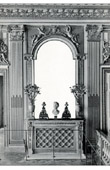 Hearth and Mirror - Bedroom - Louis XIV of France - Palace of Versailles - Bois Sculpté et Doré (Pierre Taupin - Jules Dugoulon)