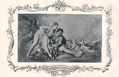 Print of Female Nude - Erotica - Curiosa - Cupid Prisoner (François Boucher - French School)