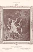 Stich von Weiblicher Akt - Erotica - Curiosa - Suzanna und die Zwei Greise (Frans van Mieris de Oudere)
