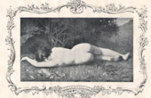 Female Nude - Erotica - Curiosa - Byblis Transformed to a Spring of Water (Henner)