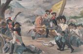 Napoleon Bonaparte - French Revolutionary Wars - Battle of Neresheim - Archduke Charles of Austria - Moreau - Lecourbe