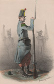 Napoleon III - Line Infantry - 1858 - Second French Empire - Military Uniform - French Costume