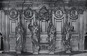 Oak Wood Confessionnal - Grimberghe Church (Henri Fran�ois Verbruggen)