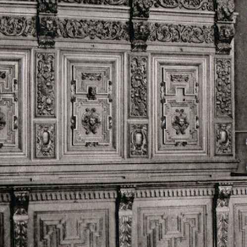alte stiche alti m bel basilika saint martin halle belgien heliograv re 1910. Black Bedroom Furniture Sets. Home Design Ideas