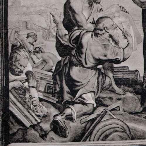 Antika Tryck | Gobeläng - Konstantin den Store - Konstantinopel (Carton de Rubens) | Heliogravyr ...