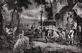 Gobel�ng - Dans av B�nderna (David Teniers)