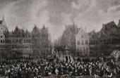 Antwerp Meir's Square - Garde Bourgeoise - 1673 (van Eyck)