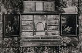 Antique Furniture - Ebony Cabinet - Cabinet en Ebène avec Inscrutations d'Ecaille - Milieu du XVIIème Siècle (Bruxelles)