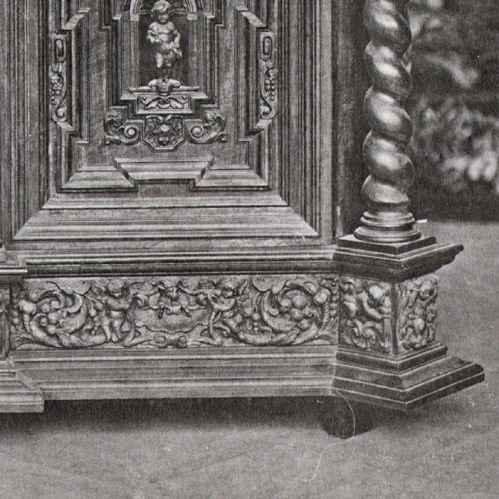alte stiche antike m bel anrichte buffet deux corps dit ribbank 1600 abbaye du parc. Black Bedroom Furniture Sets. Home Design Ideas