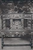 Antique Furniture - Bureau - Scriban en Eb�ne - Milieu du XVII�me Si�cle (Bruxelles)