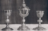 Eucharistic Objects - Chalices and Ciborium - Oudenaarde